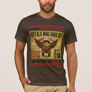 Buffalo, NY - Fire Hot Buffalo Wing T-Shirt