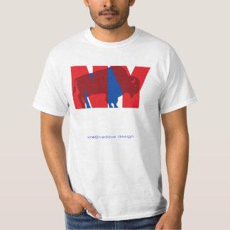 BUFFALO NY (red) T-Shirt