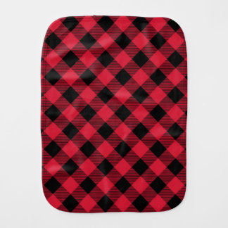 Buffalo Plaid Baby Burp Cloth