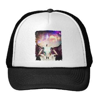 Buffalo Skull Space Cosmos Dream Cap