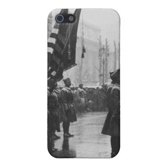 """""""Buffalo"""" Soldiers Returning Colors - 1919 iPhone 5 Case"""