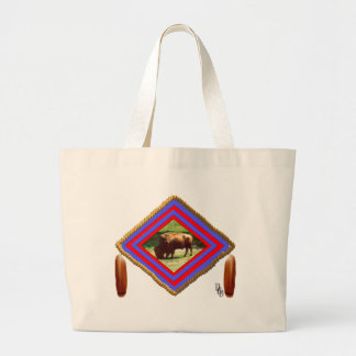 Buffalo spirit canvas bags