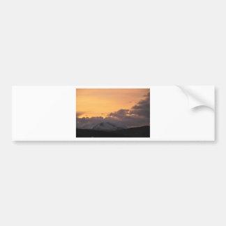 buffalo sunset bumper sticker