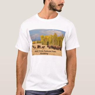 Buffalo T-Shirt from Grand Teton National Park