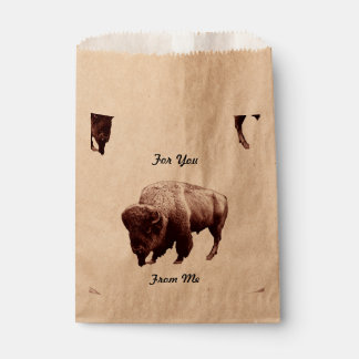 Buffalo Treats Favour Bag