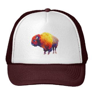 Buffalo Trucker Hat-Digital Art Cap