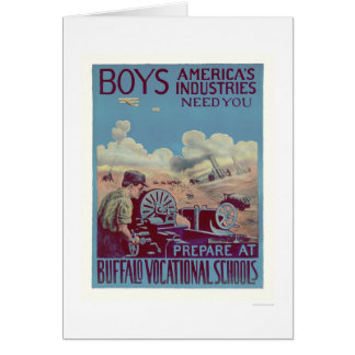 Buffalo Vocational Schools (US02061) Greeting Card