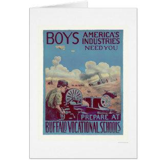 Buffalo Vocational Schools (US02061) Greeting Card