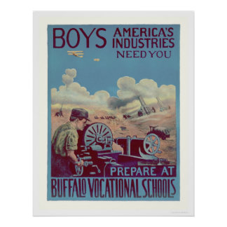 Buffalo Vocational Schools (US02061) Poster