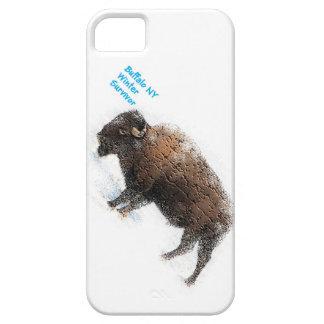 """""""Buffalo Winter Survivor Case"""" iPhone 5 Cases"""