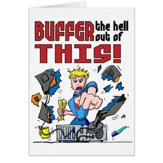 Buffer that! Computer Rage Card