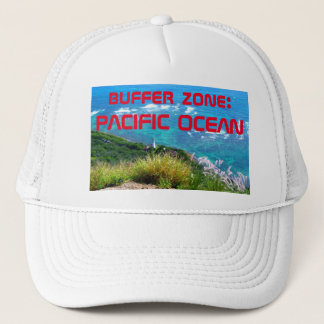 buffer zone: PACIFIC OCEAN Trucker Hat