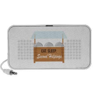 Buffet Eat Sleep Second Helpings Portable Speakers