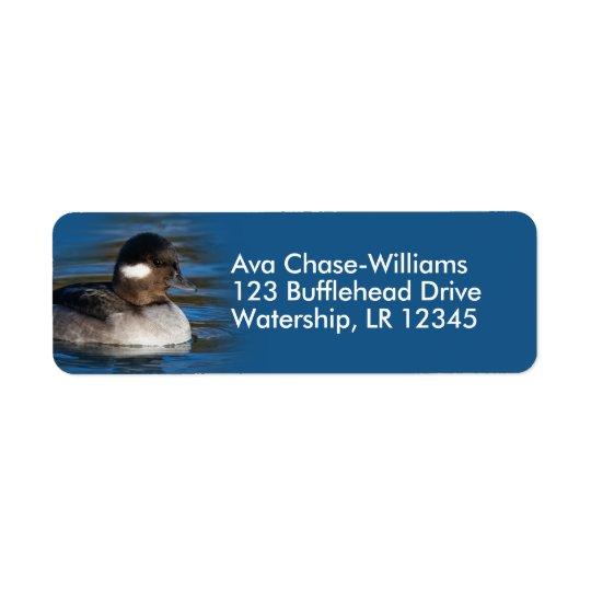 Bufflehead Duck at the Pond Return Address Label
