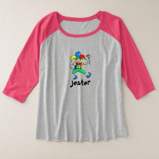 Bufón Plus Size Raglan T-Shirt