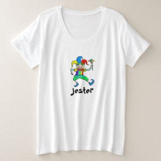 Bufón Plus Size T-Shirt