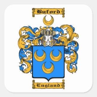 Buford Square Sticker