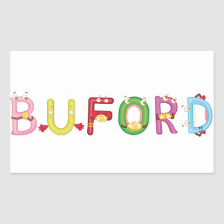 Buford Sticker