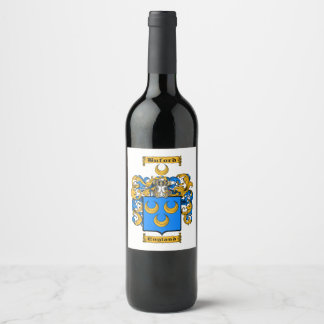 Buford Wine Label