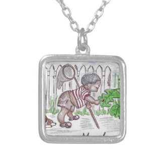 Bug Baby Silver Plated Necklace