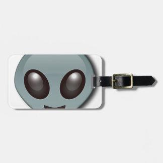 Bug Eyed Alien Bag Tag