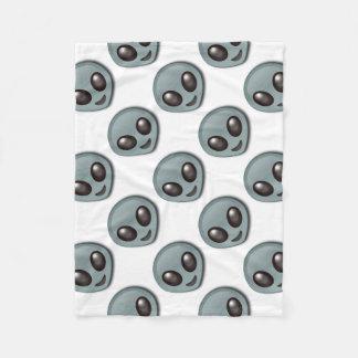 Bug Eyed Alien Fleece Blanket