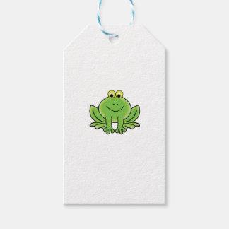 bug eyed frog gift tags