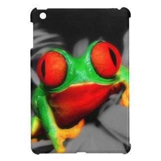 Bug-Eyed Frog iPad Mini Covers