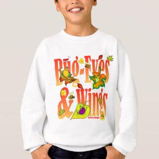Bug-Eyes & Wings and Fall Leaves Kids Sweatshirt