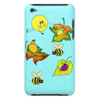 Bug-Eyes & WIngs Leaf Sleding iPod Case