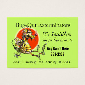 Bug-Fix Business Card