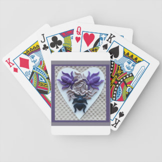 Bug Heart Playing Cards