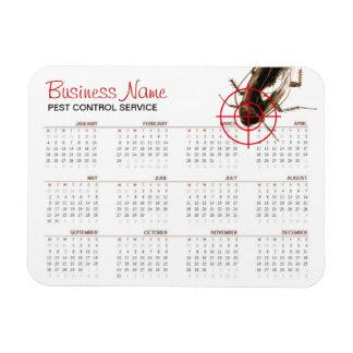 Bug Killer Pest Control 2016 Calendar Promotion Rectangular Photo Magnet