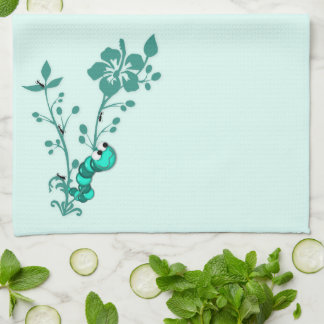 Bug Off Kitchen Towels in Green