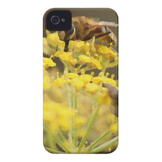 Bug on Flower iPhone 4 Cases