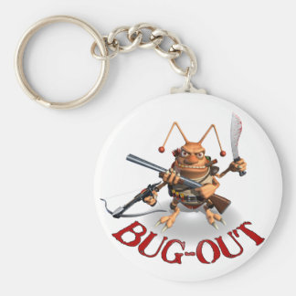 Bug-Out Basic Round Button Key Ring
