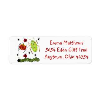 Bug Return Address Labels