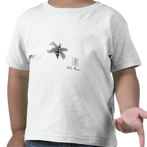 Bug, Sumi-e by Andrea Erickson Tshirts