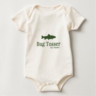 Bug Tosser Logo Baby Bodysuit
