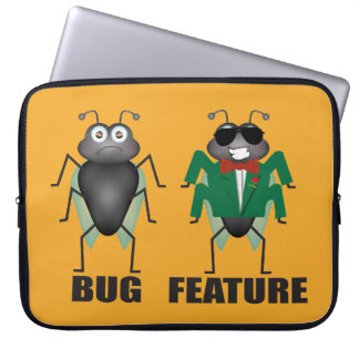 Bug vs Feature Laptop Sleeve
