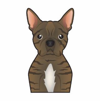 Bugg Dog Cartoon Standing Photo Sculpture