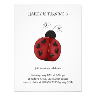 Buggin' You Again · Ladybug Personalized Announcement