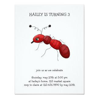 Buggin' You Again · Red Ant 11 Cm X 14 Cm Invitation Card