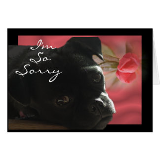 Buggs Dog Belated -- customize occasion Card