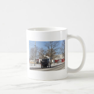 Buggy Ride Winter Day Coffee Mug