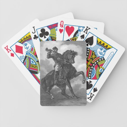 Bugle Call 1863 Poker Deck