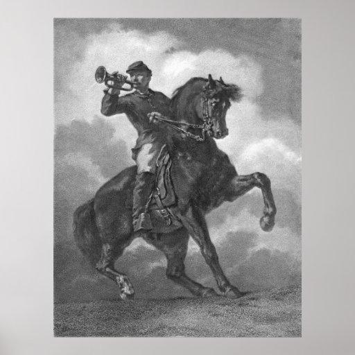 Bugle Call 1863 Poster