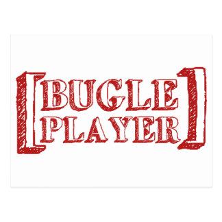 Bugle Player Postcard