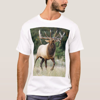 "Bugleing Elk 3, ""Call of the Wild"" T-Shirt"