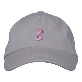 Bugs 3 embroidered baseball cap